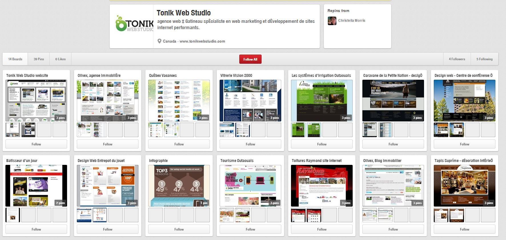 Tonik web studio sur Pinterest