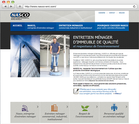 Nasco entretien d'immeuble à Gatineau