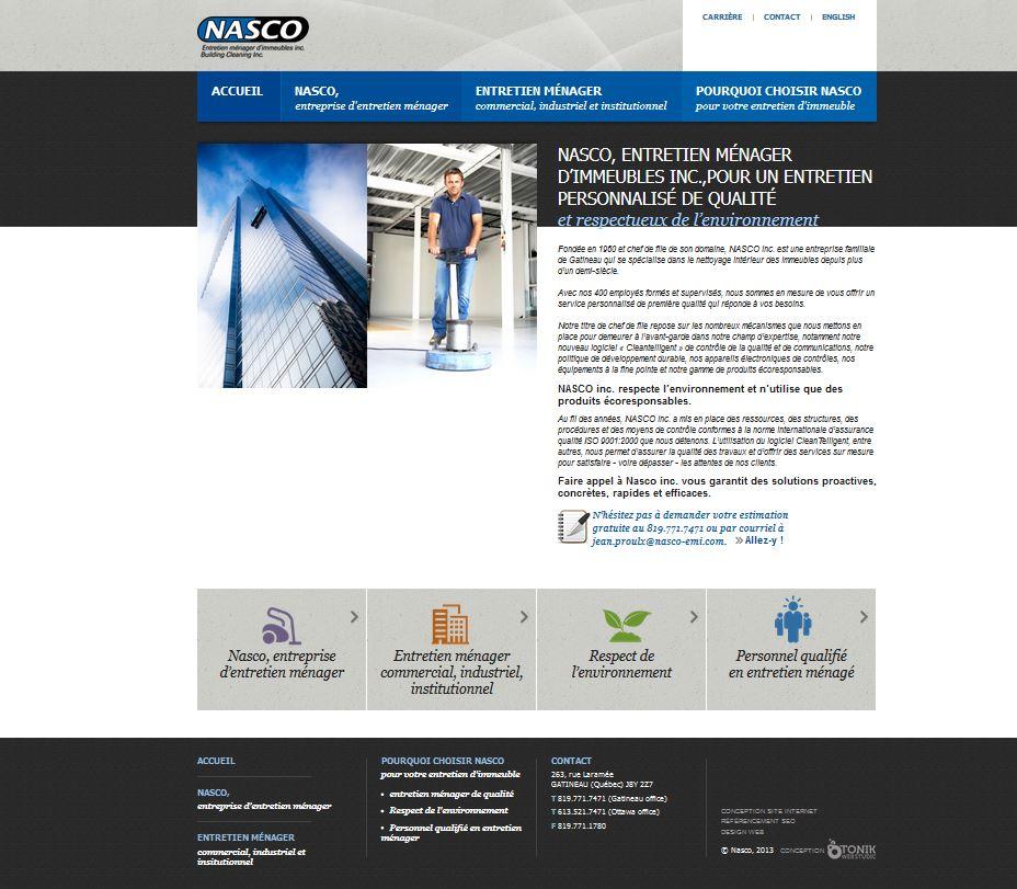 Nasco Inc. entretien ménager d'immeuble