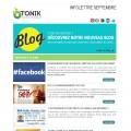 infolettre web marketing tonik web studio