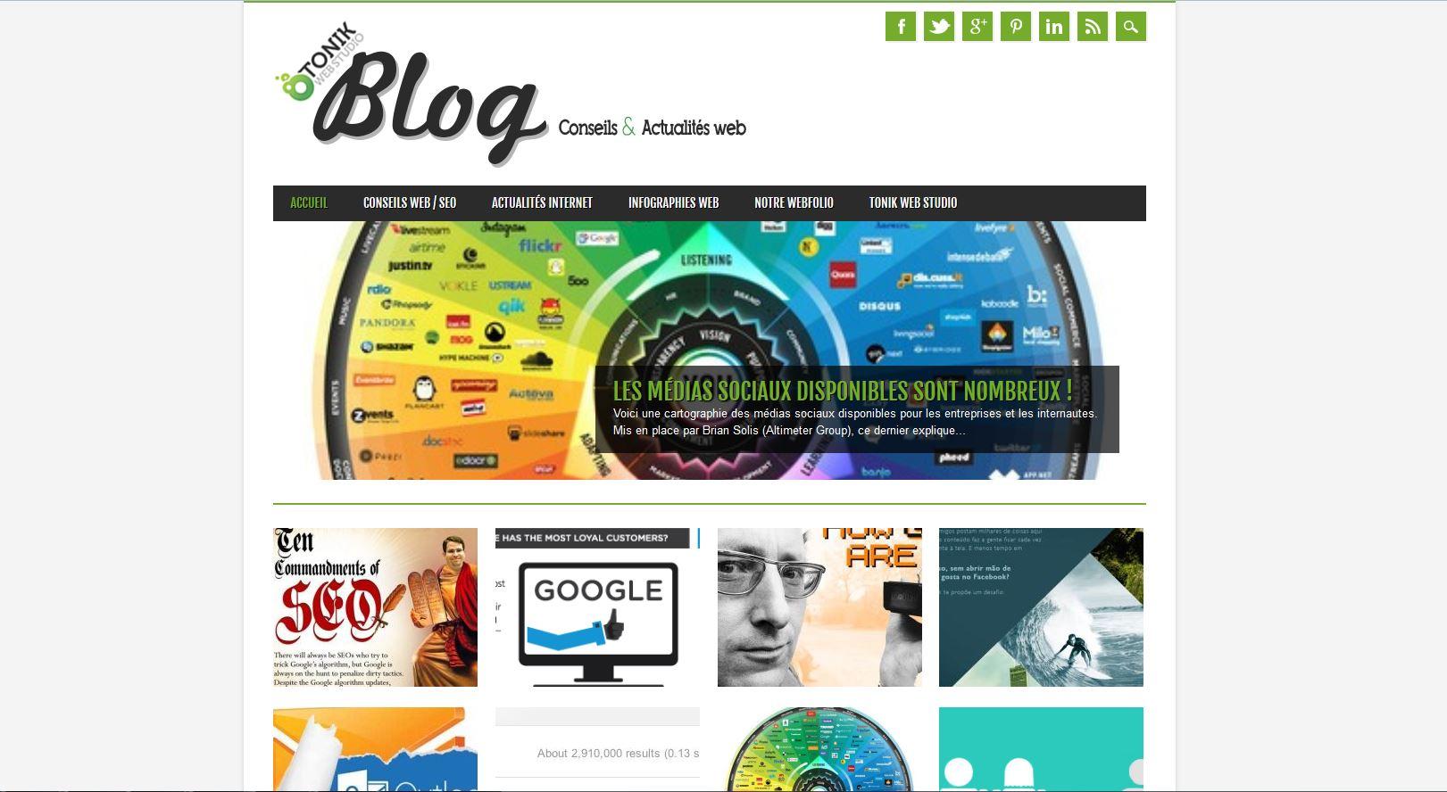 Blog conseils et astuces web