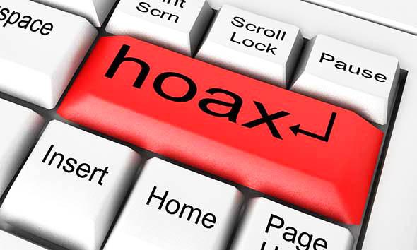 Hoax sur internet