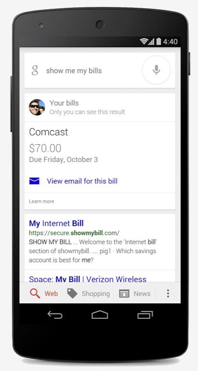google bill